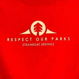 Respect Our Parks, Steamboat Springs, 100% cotton
